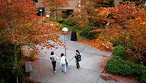 Snohomish Hall Courtyard