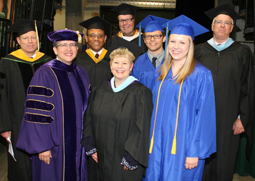 Edmonds CC trustees, president and student speakers