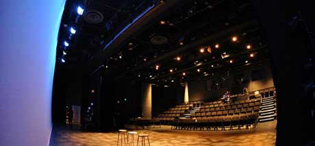 Black Box Theatre stage view 2