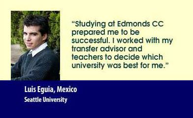 Luis Eguia, Mexico, Seattle University