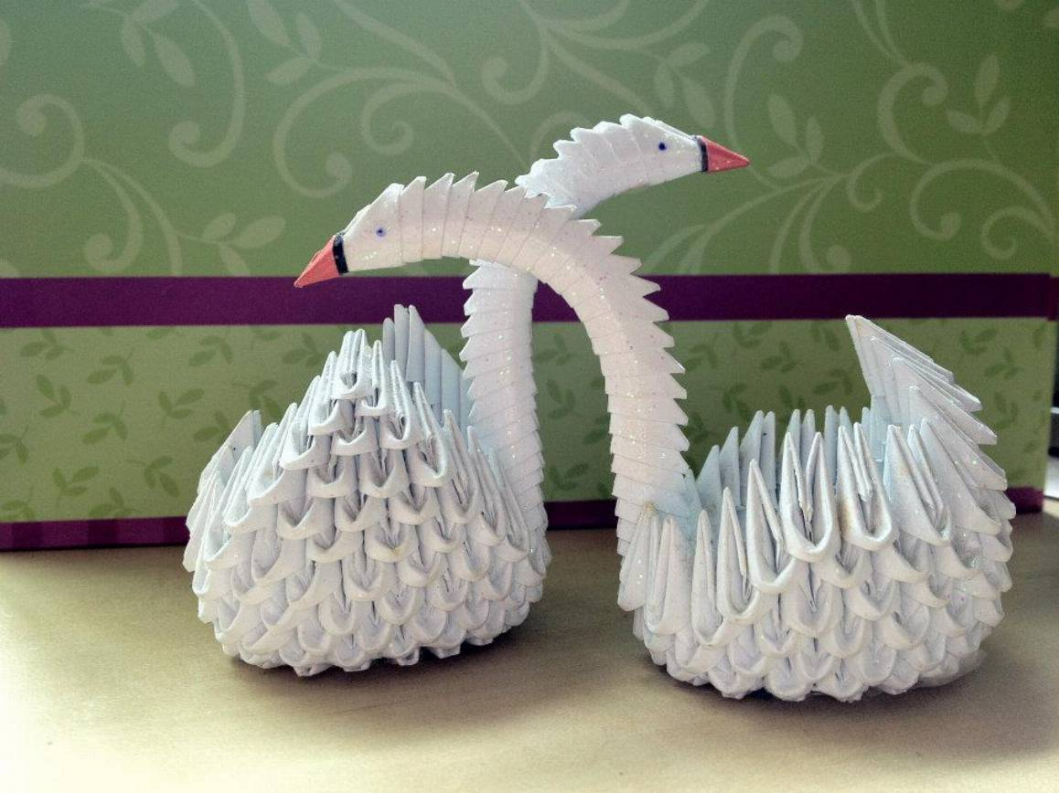 Quilling Swan