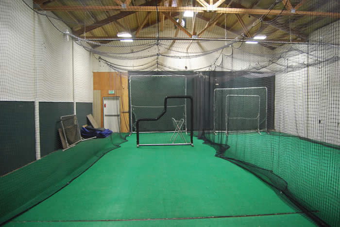 Indoor hitting facility