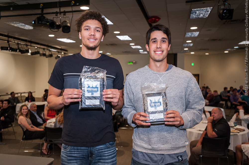 Co-Male Athletes of the Year