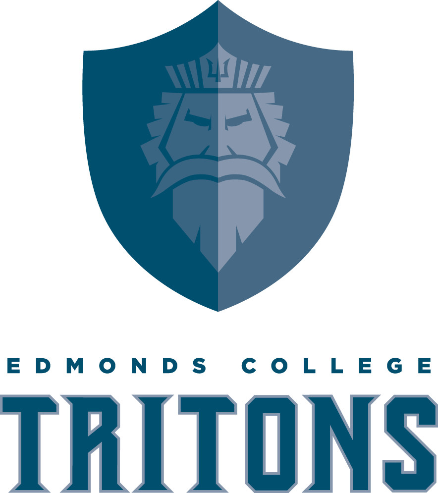 Edmonds College Tritons Mascot