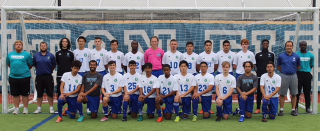 2018 Men's Soccer Team