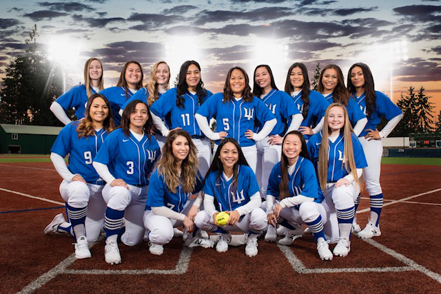2018 Triton softball team