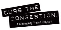 Curb the Congestion logo