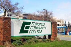 Edmonds CC Sign