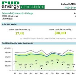Edmonds CC energy usage chart
