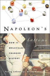 Napoleon's Buttons book cover