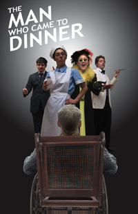 The Man Who Came to Diner poster