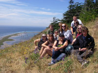 Students on Whidbey Island