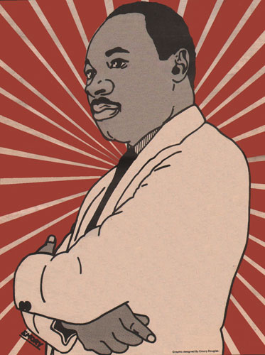 Martin Luther King Jr. by Emory Douglas
