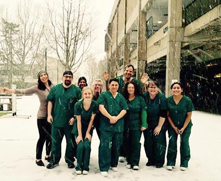 Winter 2017 Phlebotomy class