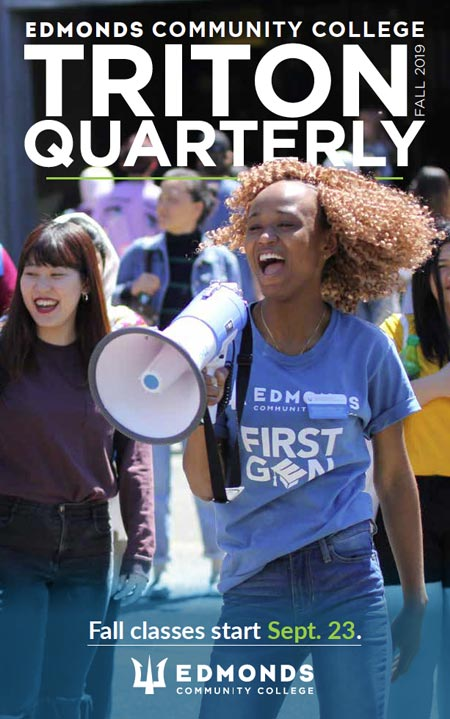 Fall 2019 Triton Quarterly cover