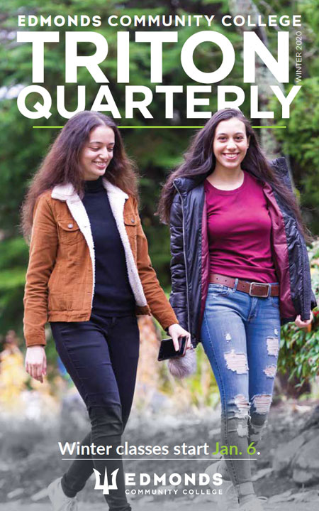 Winter 2020 Triton Quarterly cover