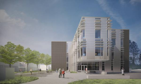 stem building rendering
